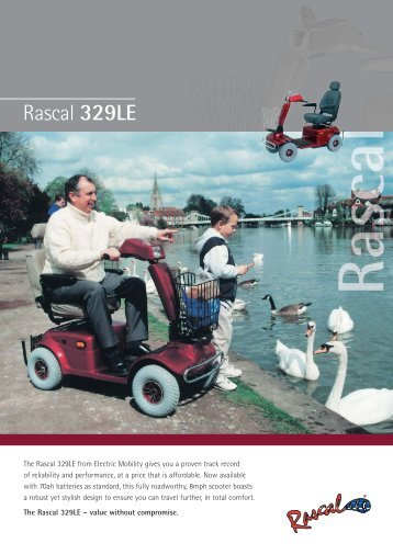 Rascal 329LE - Better Mobility