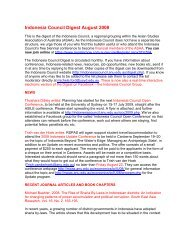 August - Asian Studies Association of Australia
