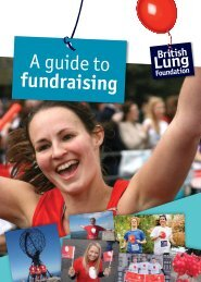 A guide to fundraising - British Lung Foundation