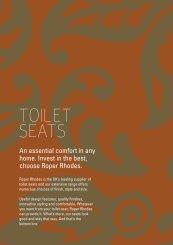 Roper Rhodes Toilet Seats - John Nicholls