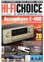 HIFI CHOICE – Accuphase E-460 - Eter Audio