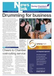 Drumming for business - Surrey Chambers of Commerce