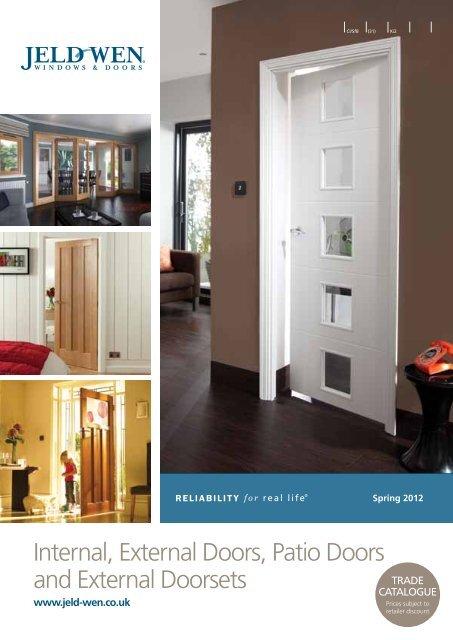 Bostonian 28BTN 6-Panel Woodgrain Moulded Internal Door