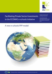 Facilitating Private Sector Investments in the ECOWAS e-schools ...