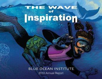 2010 Annual Report - Blue Ocean Institute