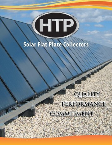Solar Flat Plate Collectors - Heat Transfer Products, Inc