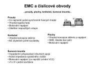 EMC a číslicové obvody