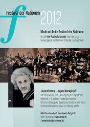 Flyer zum Download - Bayern