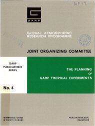JOINT ORGANIZING COMMITTEE - E-Library - WMO