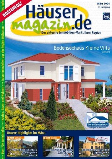 PDF ansehen - Häusermagazin