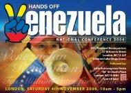 LONDON, SATURDAY 4th NOVEMBER 2006, 10am - 5pm