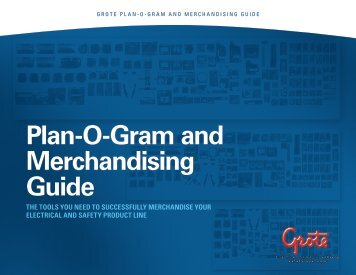 Plan-O-Gram and Merchandising Guide - Grote Industries
