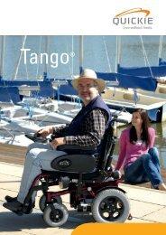 Descargar Catálogo silla de ruedas electrica Tango