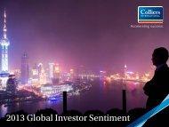2013 Global Investor Sentiment - Colliers International