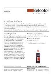 Hardfloor Refresh - Rent-a-Shop