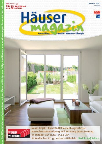 Neues Objekt - Häusermagazin