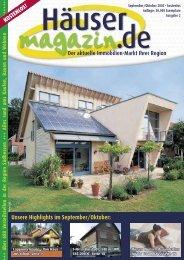 Der aktuelle Immobilien-Markt Ihrer Region - Häusermagazin