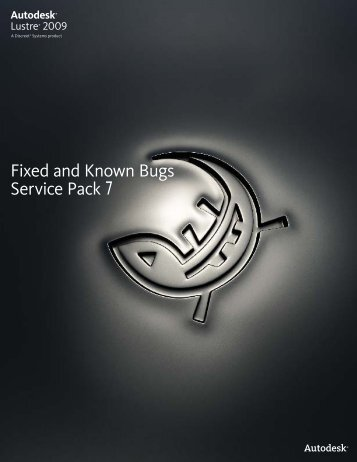 Fixed and Known Bugs Service Pack 7 - Autodesk