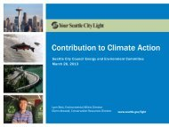 SCL Contribution to Climate Action Presentation