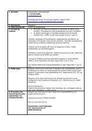 tilbuddet i relation til Diabetes type 2 - Patientuddannelse