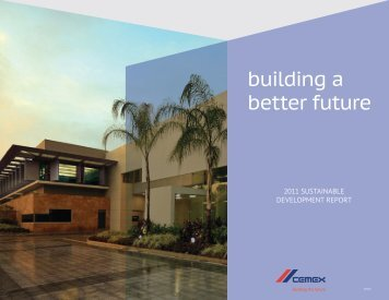 building a better future - Cemex