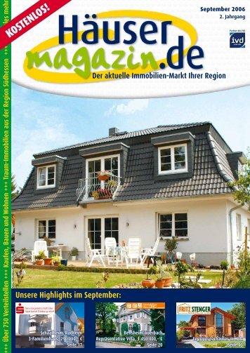KOSTENLOS! - Häusermagazin