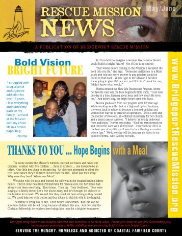 May / June 2012 - Bridgeport Rescue Mission