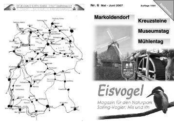 Eisvogel - 2. Jahrgang, Ausgabe 6, Mai-Juni 2007