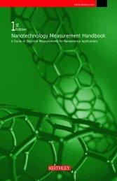Nanotechnology Measurement Handbook - Keithley Instruments