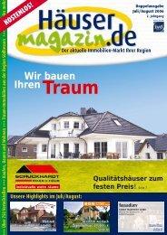 Wir bauen Ihren Traum - Häusermagazin