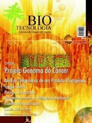 Projeto Genoma do Câncer - Biotecnologia