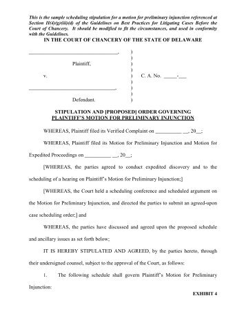 Joint Stipulation and Order to Extend the Court's Scheduling Order ...