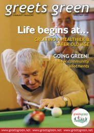 April/May - The Greets Green Partnership Legacy Website