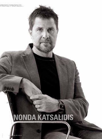 NONDA KATSALIDIS - Unitised Building