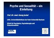 Psyche und Sexualität Psyche und Sexualität – ein Einleitung - LWL ...