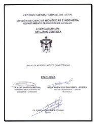 Fisiología - Centro Universitario de los Altos