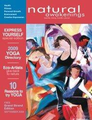 Creative Expression & 2009 Yoga Directory - Grand Strand Natural ...