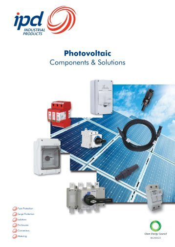 Photovoltaic Switches - IPD ...The