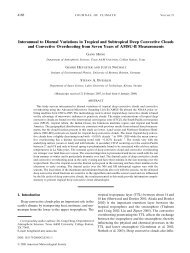 Interannual to Diurnal Variations in Tropical and Subtropical Deep ...