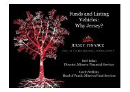 Funds and Listing Vehicles: Why Jersey?