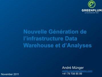Greenplum Big Data Analytics - EMC