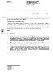 Le 16 juin 2004 42C Directives sur l'intégration de la perspective de ...
