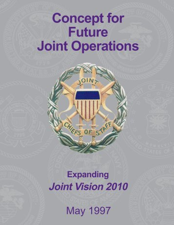 Concept for Future Operations - The Information Warfare Site