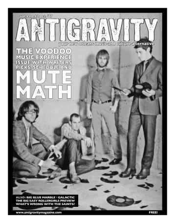 October 2007 (PDF) - Antigravity Magazine