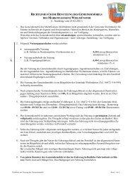 Richtline zur Benutzung des Gemeindemobils - Weilmünster