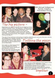 newsletter insert march.FH11 - Qld Centre for Domestic and Family ...