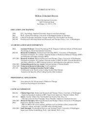 Milton Zebediah Brown - Behavioral Tech, LLC
