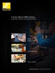 K-Series Optical CMM solutions - Nikon Metrology