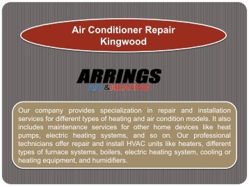 Air Conditioner Repair Kingwood