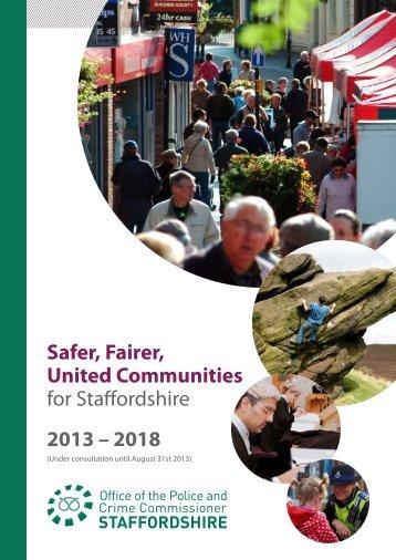 Draft Police and Crime Plan 2013-18 , item 6. PDF 2 MB - Meetings ...